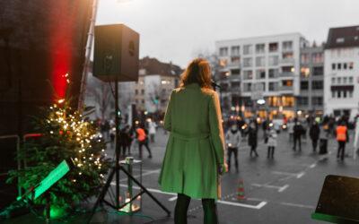 Weihnachtsgottesdienst auf dem Rüttenscheider Markt