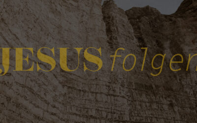 JESUS FOLGEN // Teil 1